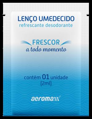 Conheça o lenço umedecido refrescante da Aeromaxx