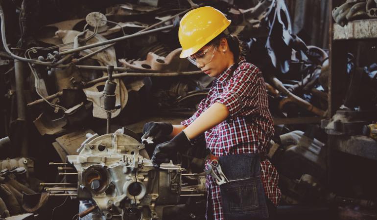equipamento de proteção individual na indústria