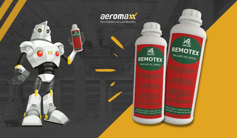 Remotex emulsão de limpeza para injetoras.